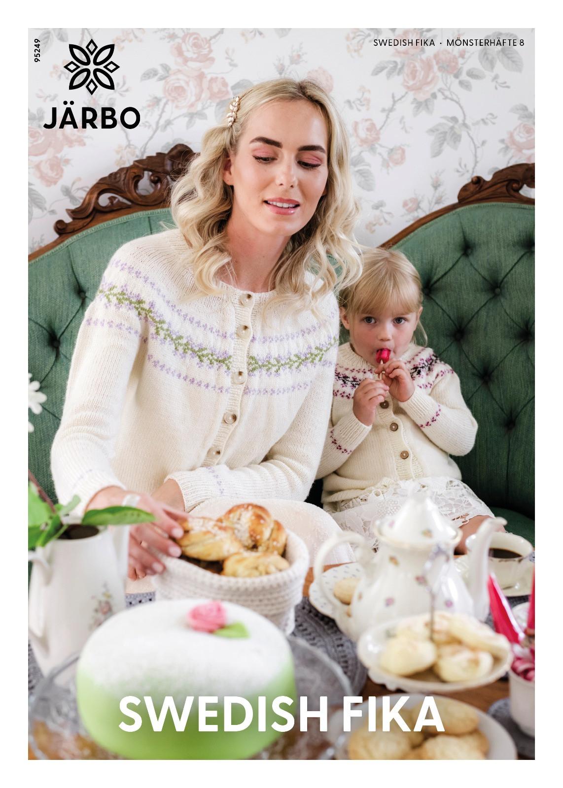 Järbo mönsterhäfte 8, swedish fika