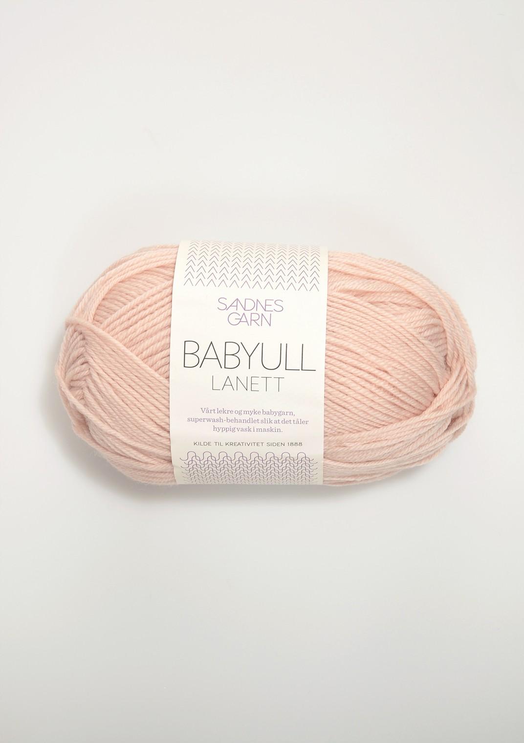Babyull lanett 3511 puder rosa