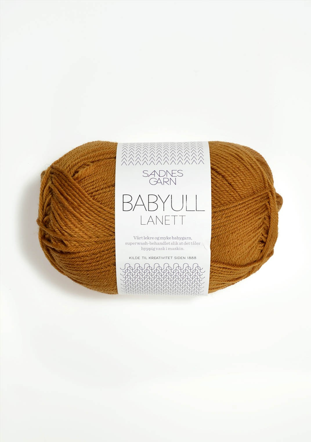 Babyull lanett 2335 senapsgul