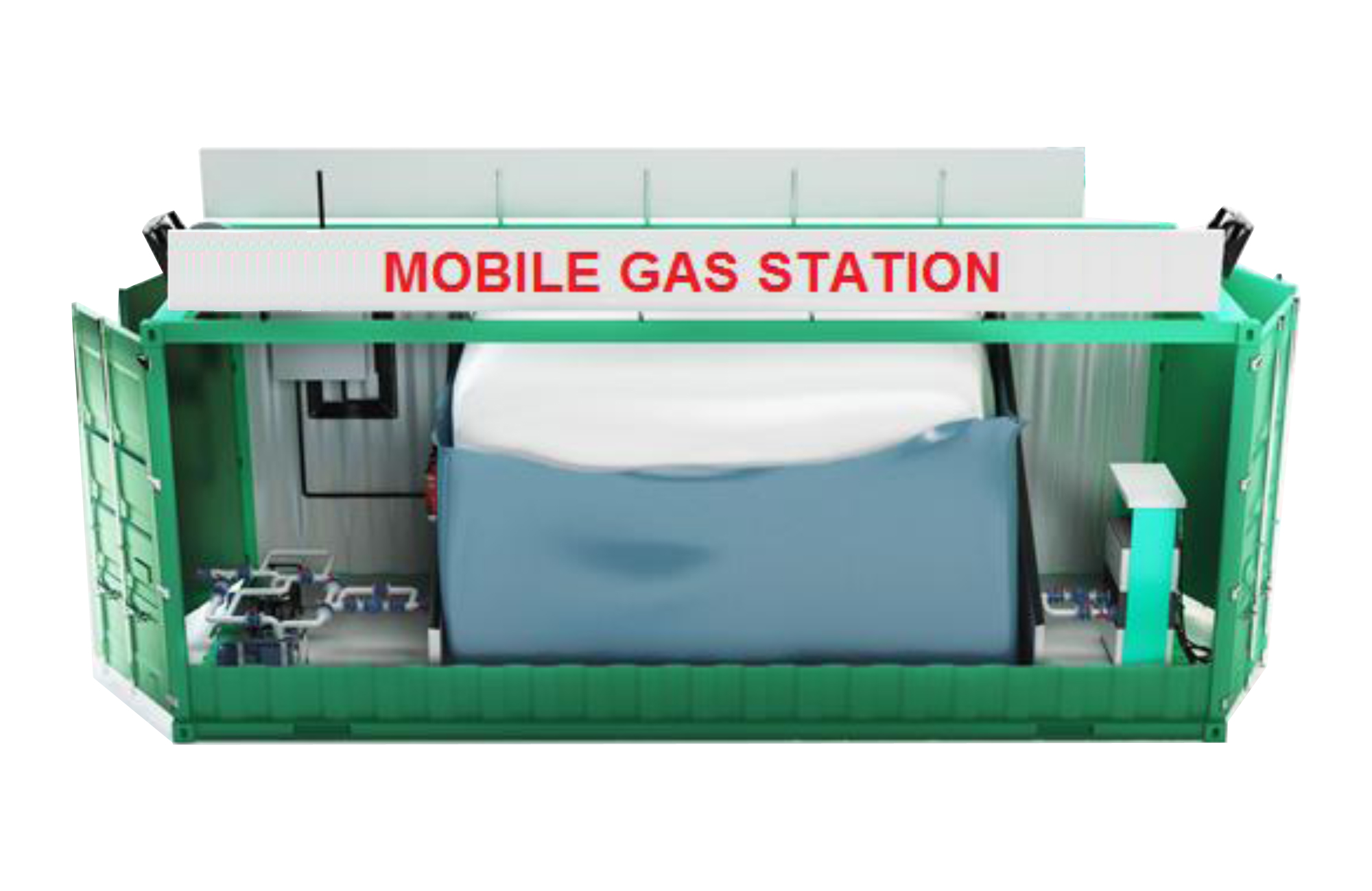 Mobil Gas Stations | Premium storage for water and petroleum - soft
