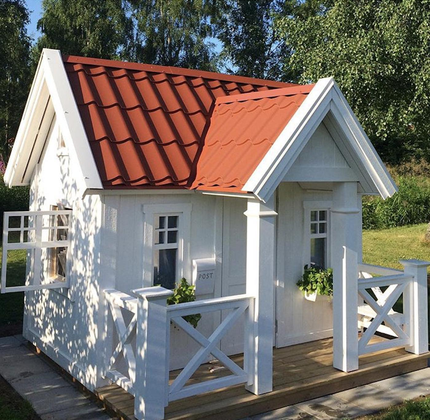 Lekstuga Villa Hätte Large från Lektema lekstugor