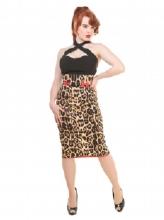 Vanya pencil skirt Collectif - Leo, Stl XS