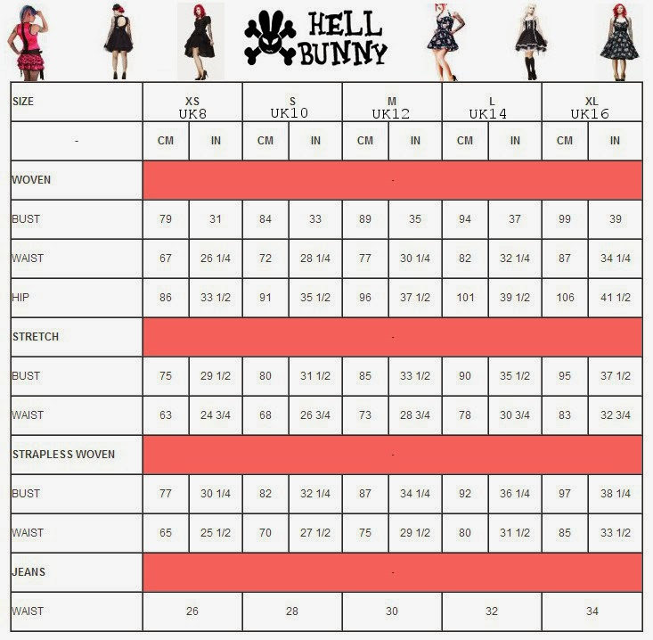 Hell+Bunny+size+chart