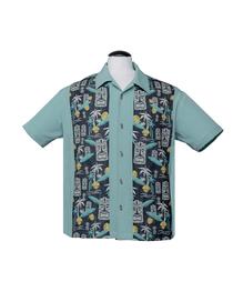 Tiki in Paradise skjorta - tiki paradise skjorta stl XS