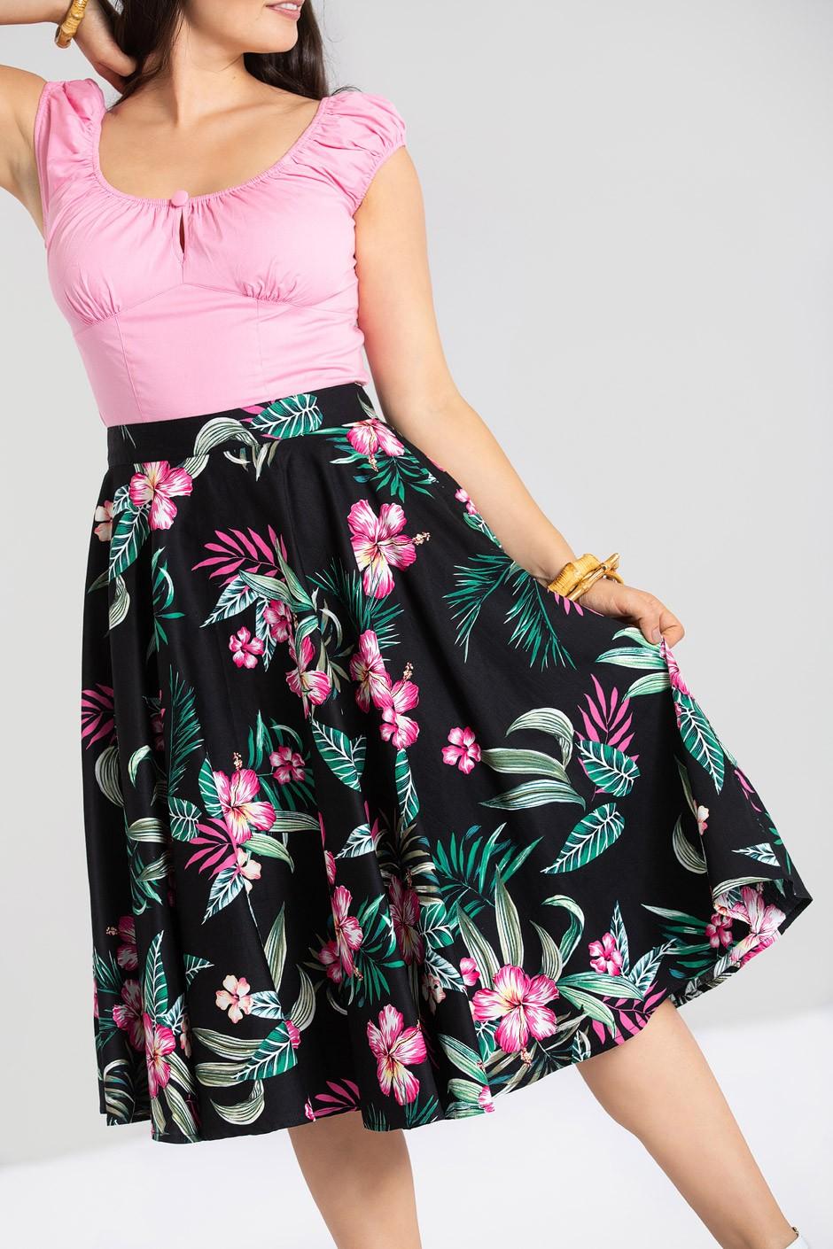 kalani kjol, svart