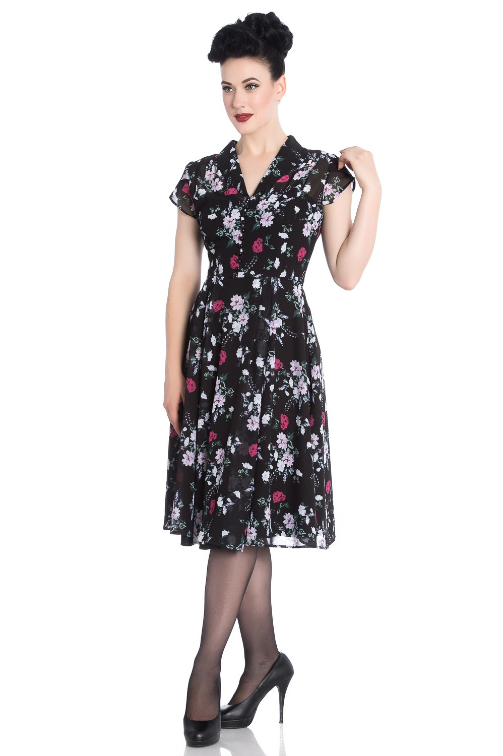 belleville-dress, blk