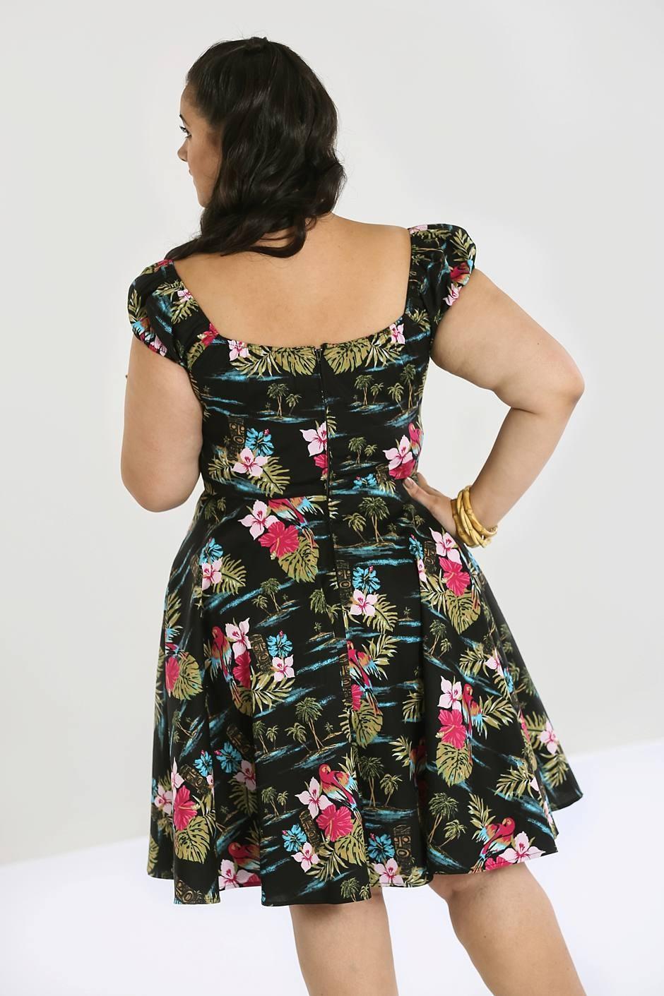 noa noa mid dress