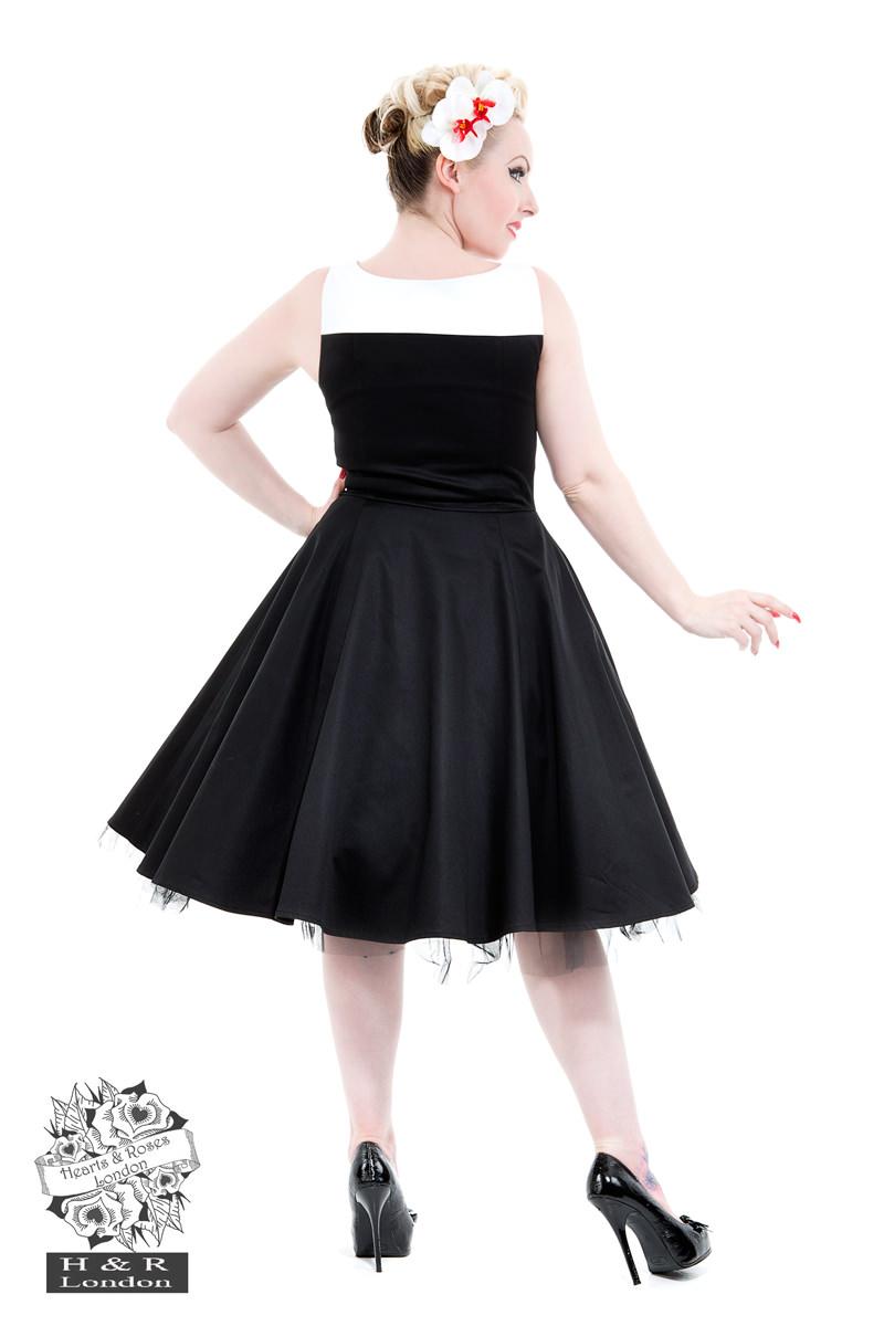 Black White Dress-2