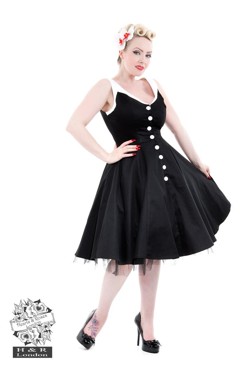 Black White Dress-1