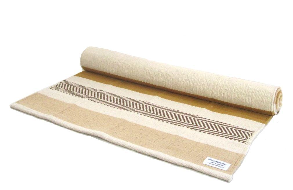 Yogamatta Beige-randig ca 186 cm