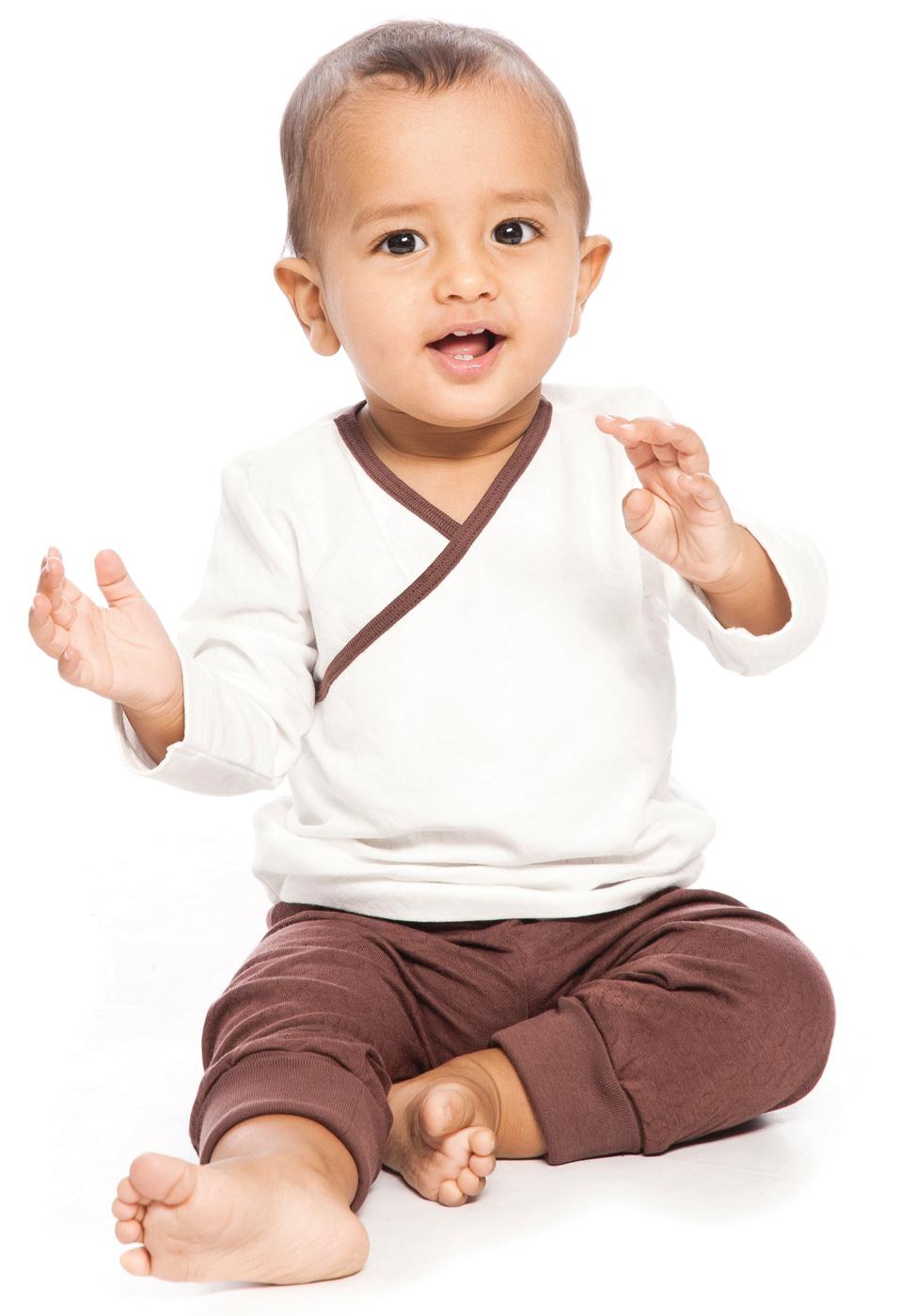 barntröja v-ringad