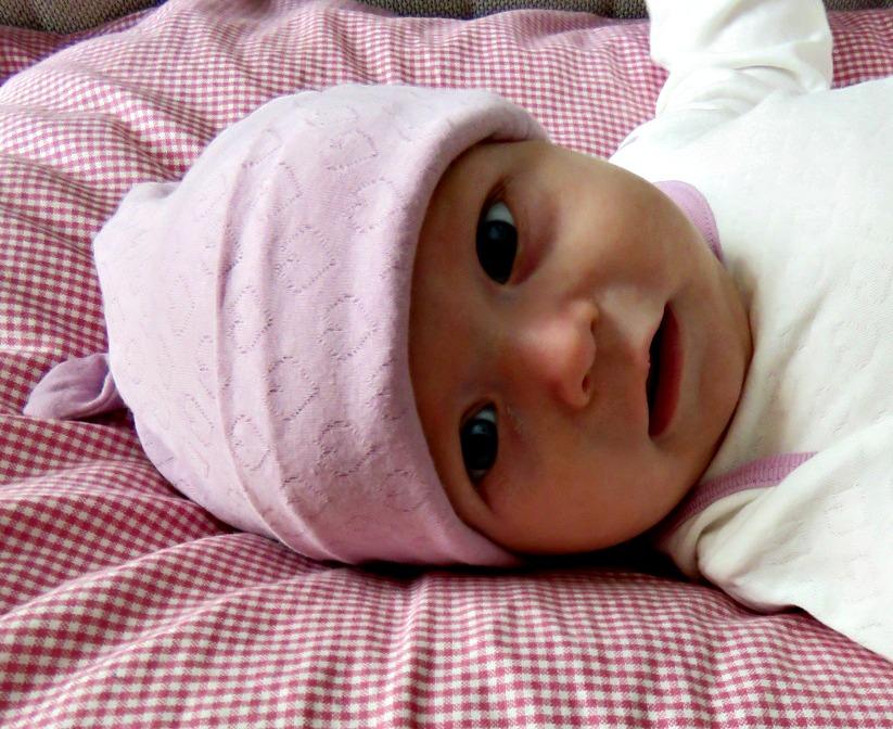 Babymössa rosa