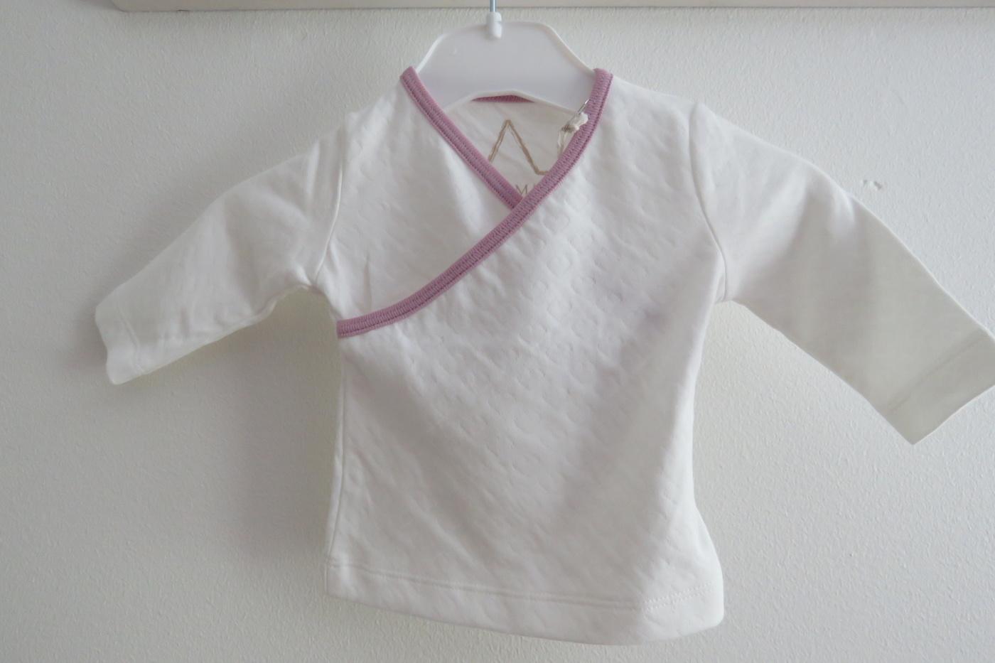 Barn Tröja vit/rosa