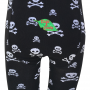 Pirat barnstrumpbyxor bak