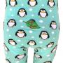 Pingviner barnstrumpbyxor bak