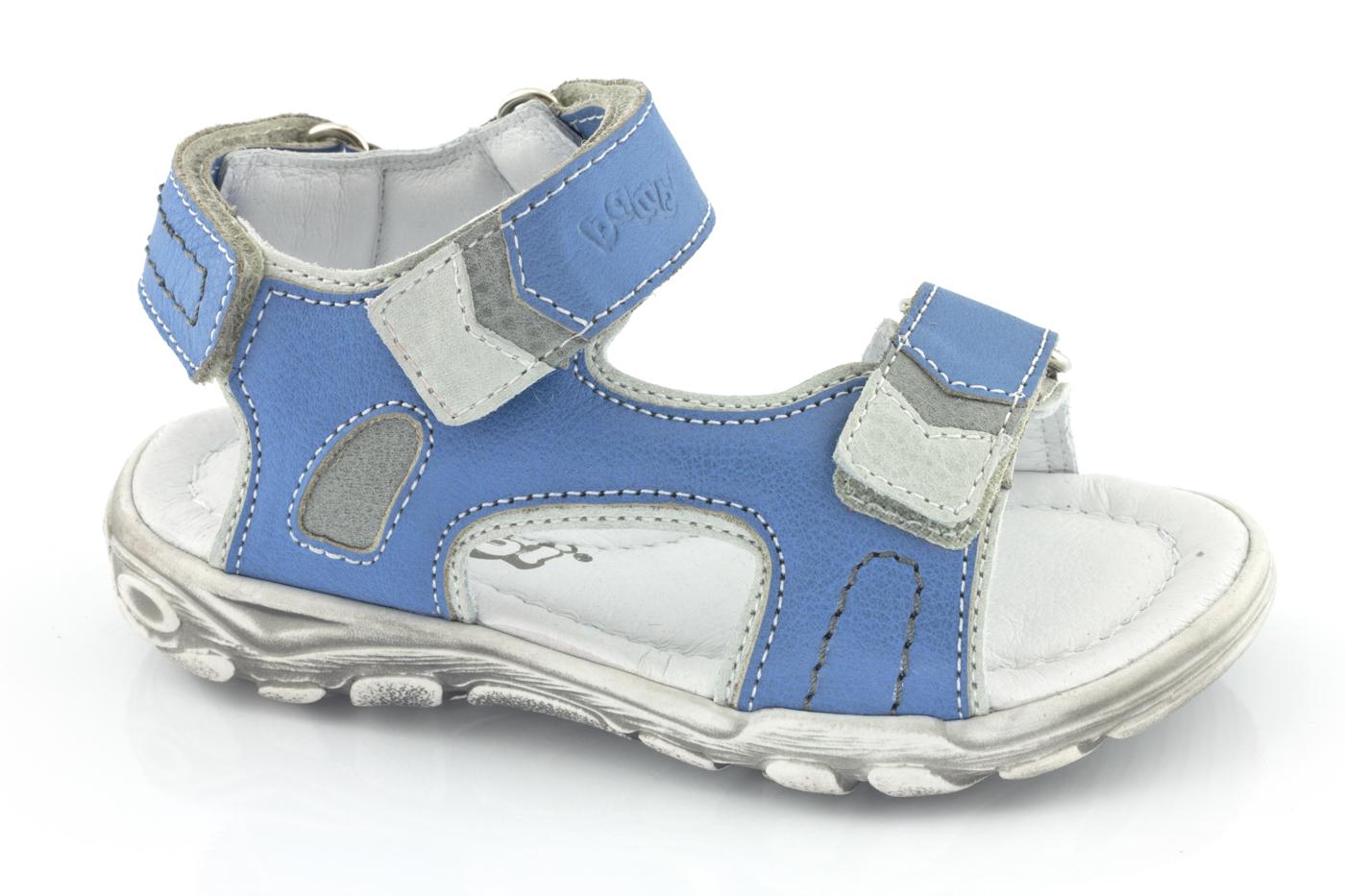 Barnsandal sportig blå Bambi GB215021-2