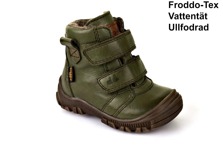 Barnskor vinterskor grönG2110059-4