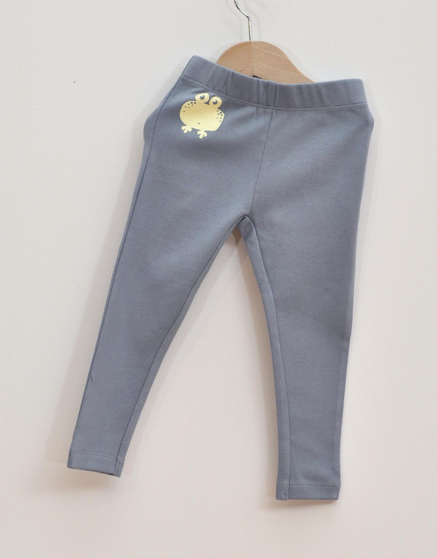 Leggings ljusblå W17-111-1