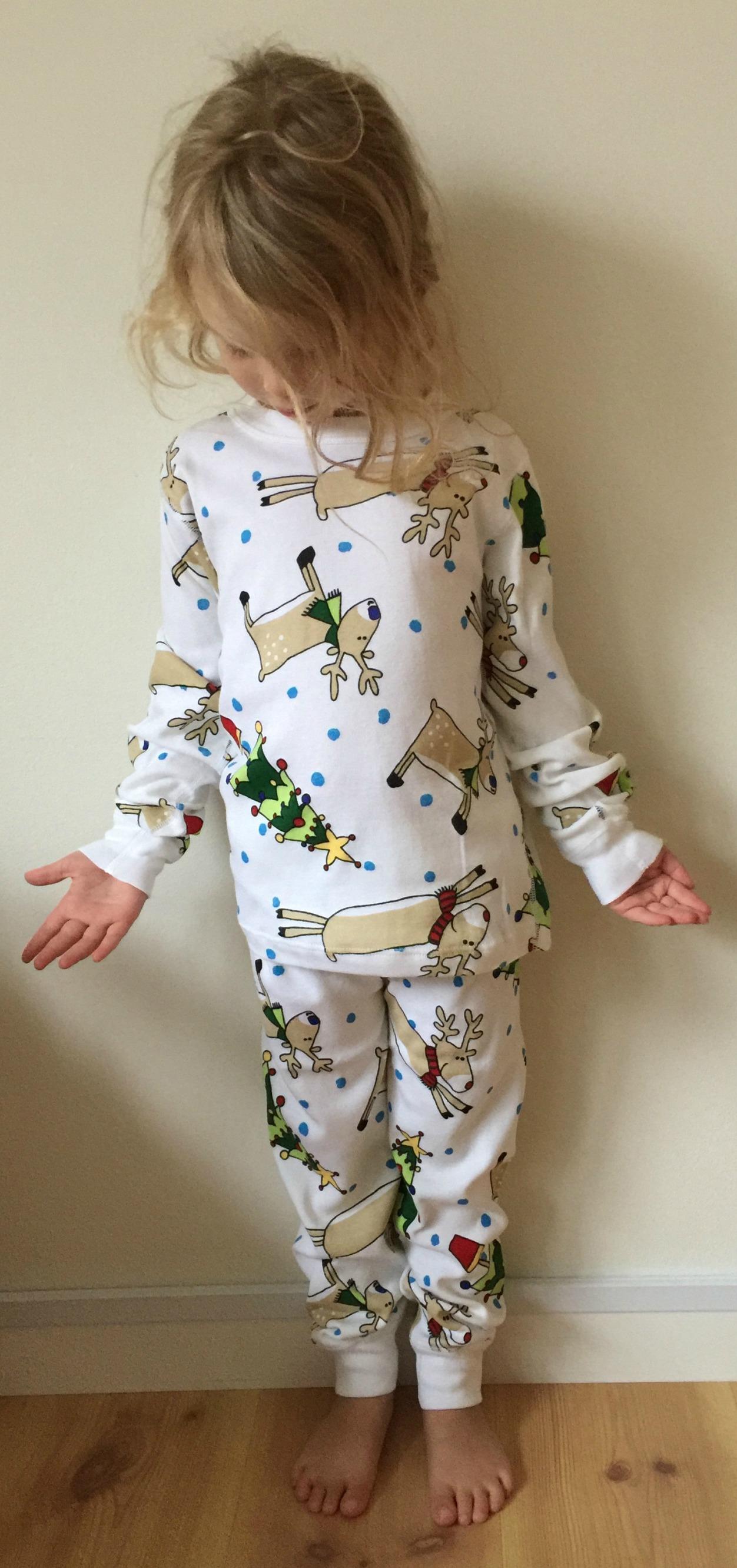Pyjamas 2-delad julmotiv