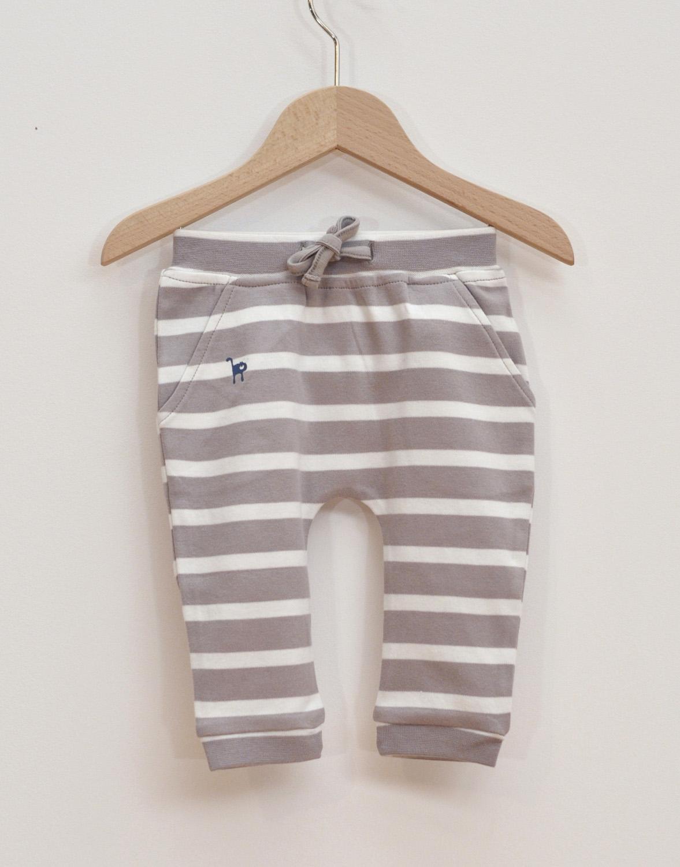 Haremsbyxor baby grå/vit