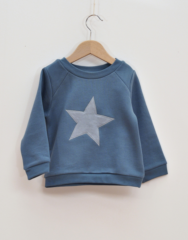 Sweatshirt barn blå
