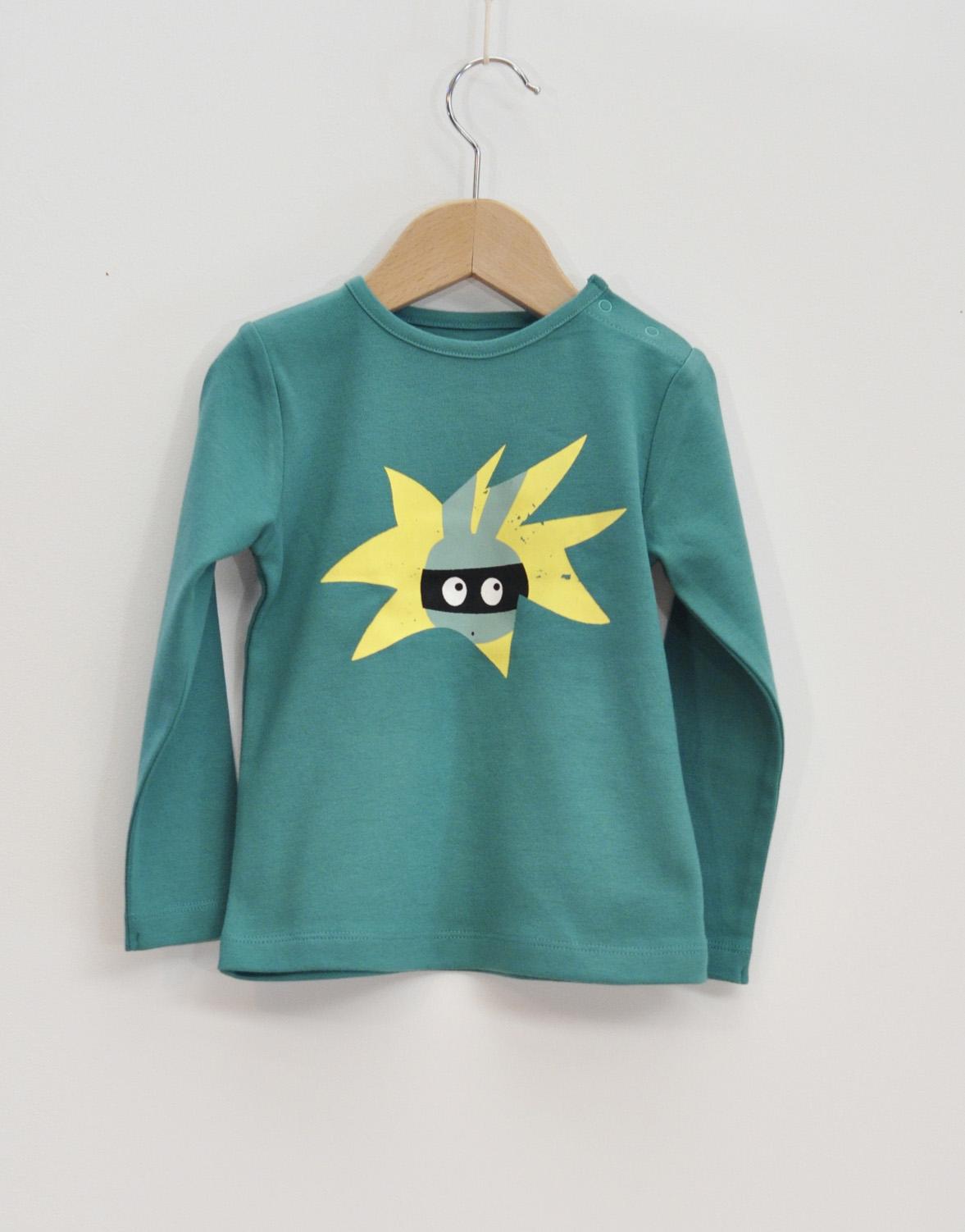 tröja barn emerald