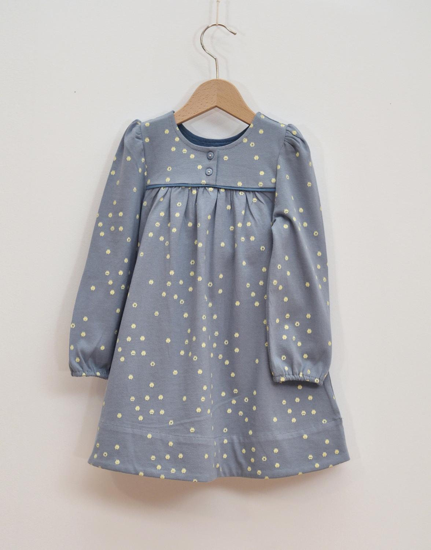 barnklänning ljusblå