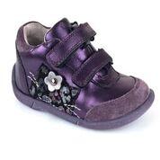 Lära gå skor lila barnskor