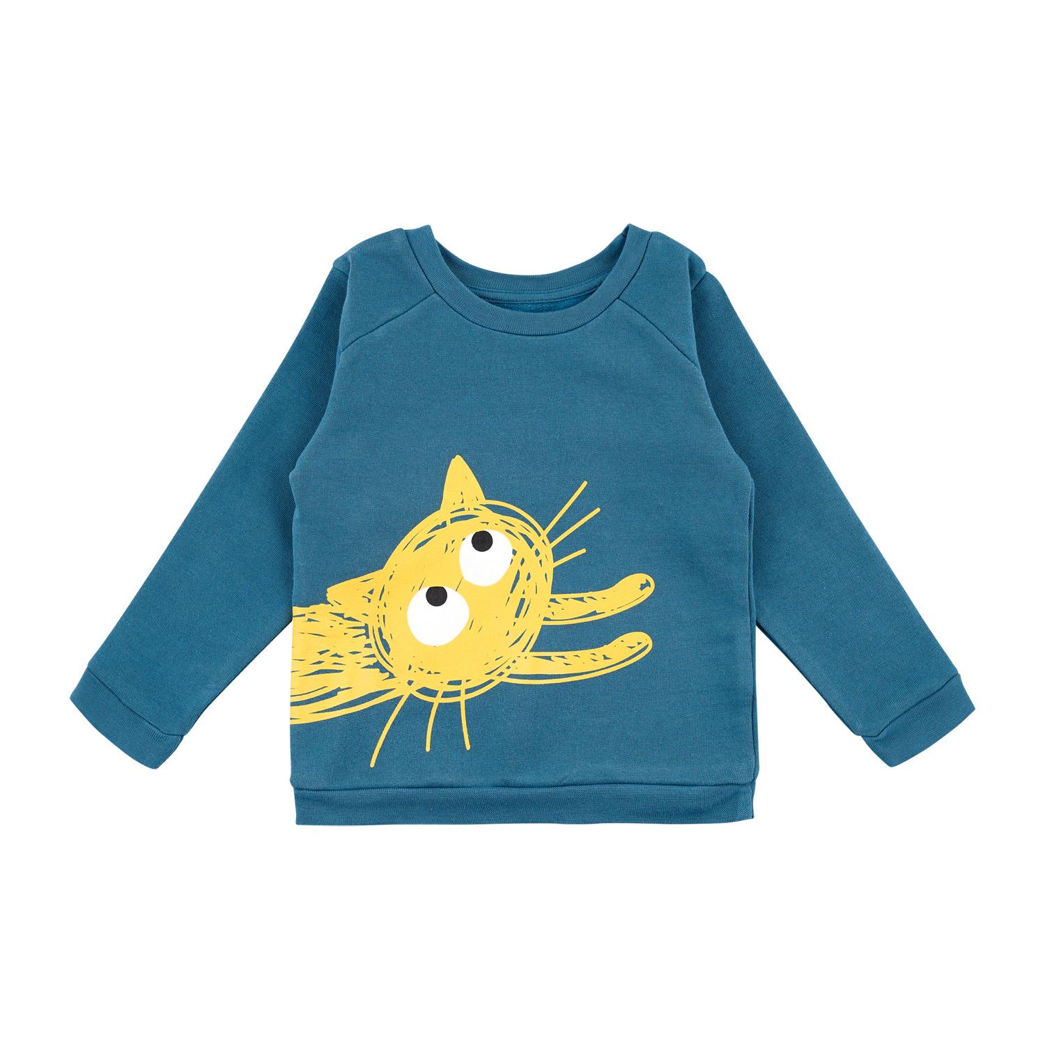 Barntröja sweatshirt blå