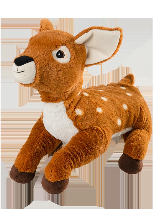 Warmies rådjur bambi mjukisdjur värmekudde