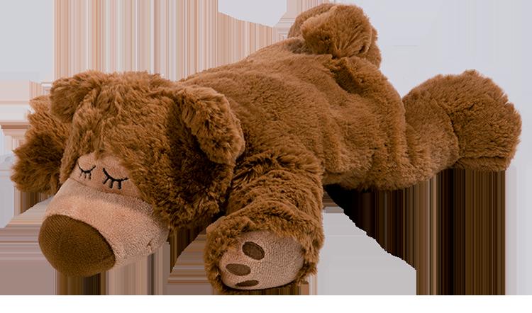 Warmies sömnbjörn brun