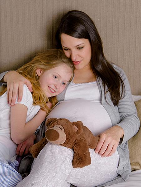 Sömnbjörn brun babyshower present