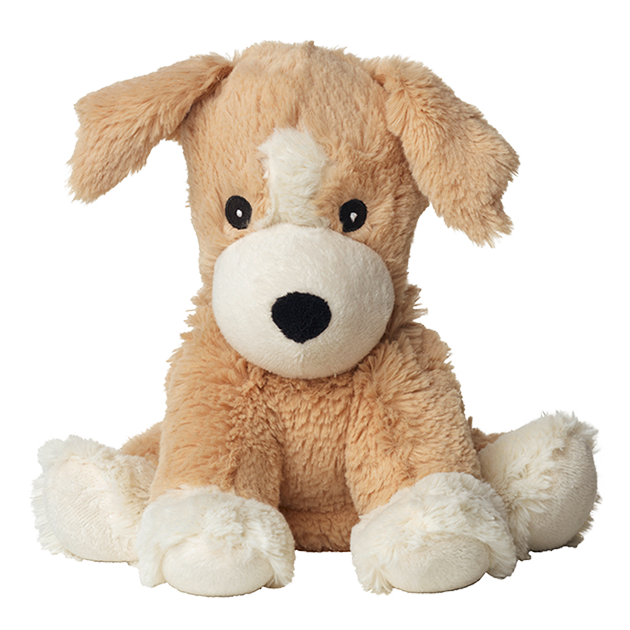 Warmies hundvalp värmekudde mjukisdjur