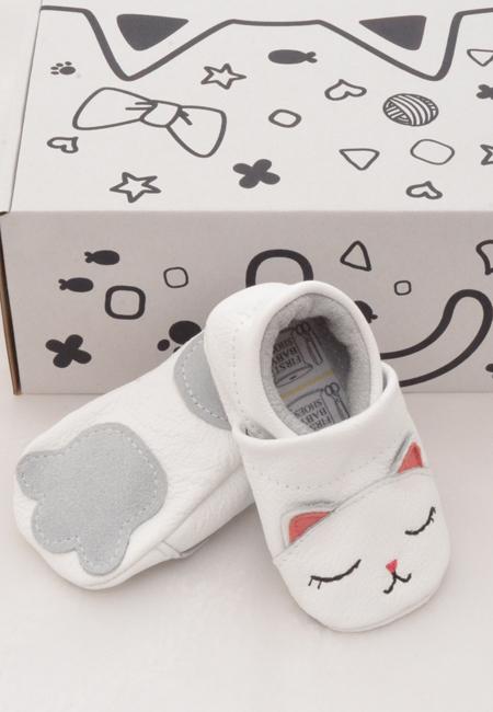 49056f401cd Baby mockasiner - katt 3-21mån   Wildasmå.se
