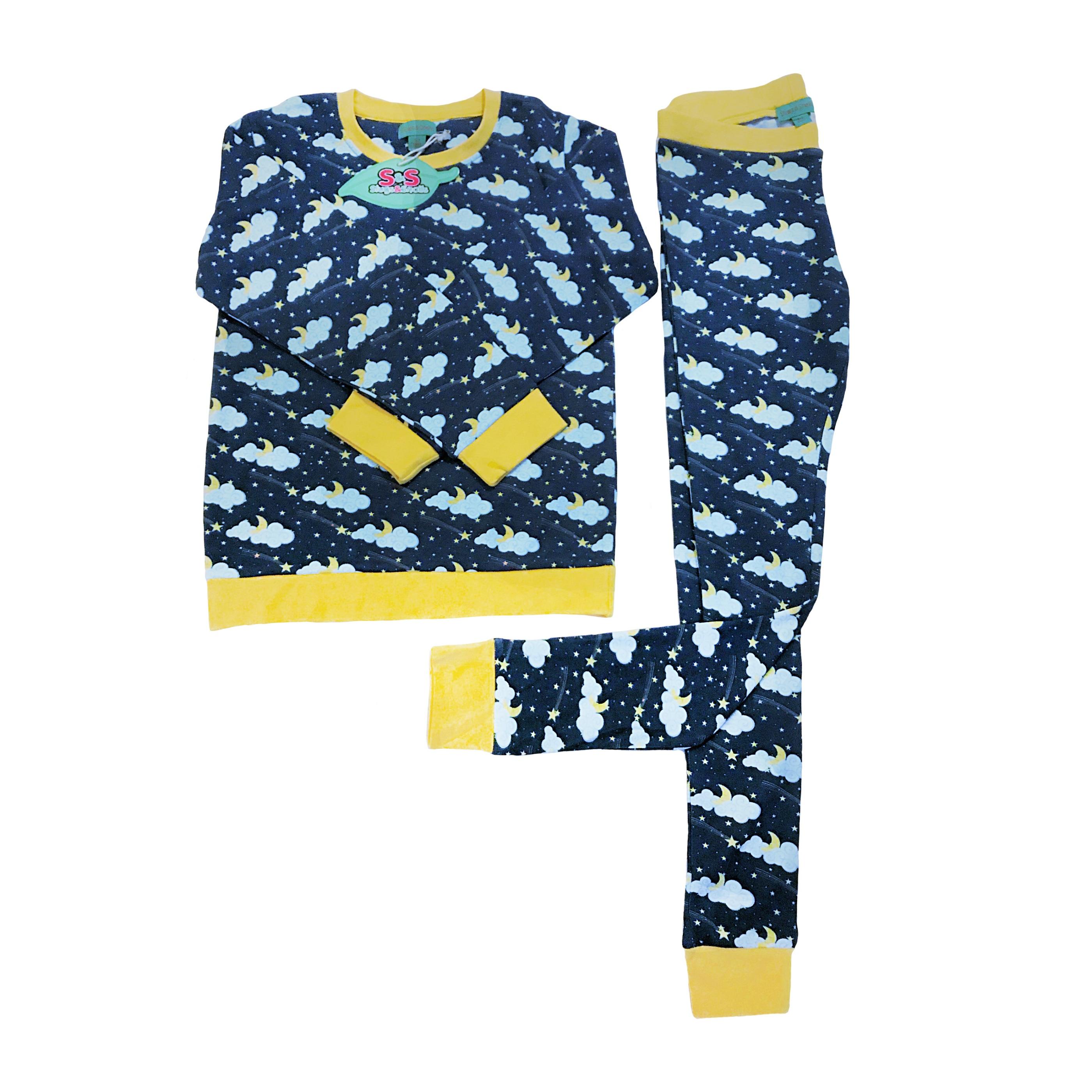ekologisk pyjamas barn