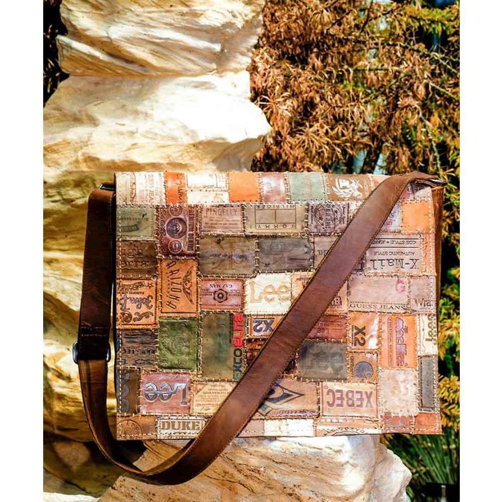 Väska skinn