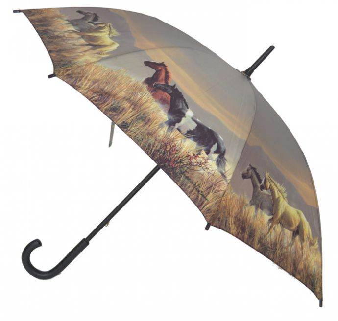 Paraply hästar