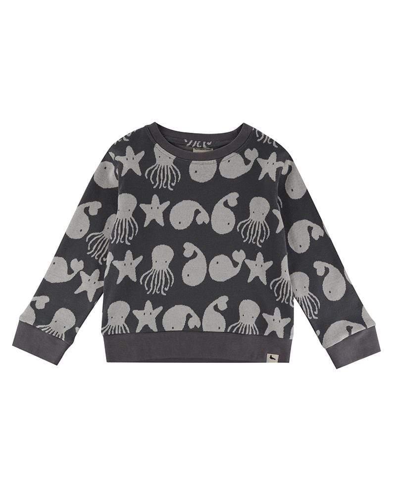HTD402. sweatshirtför barn ekologisk bomull
