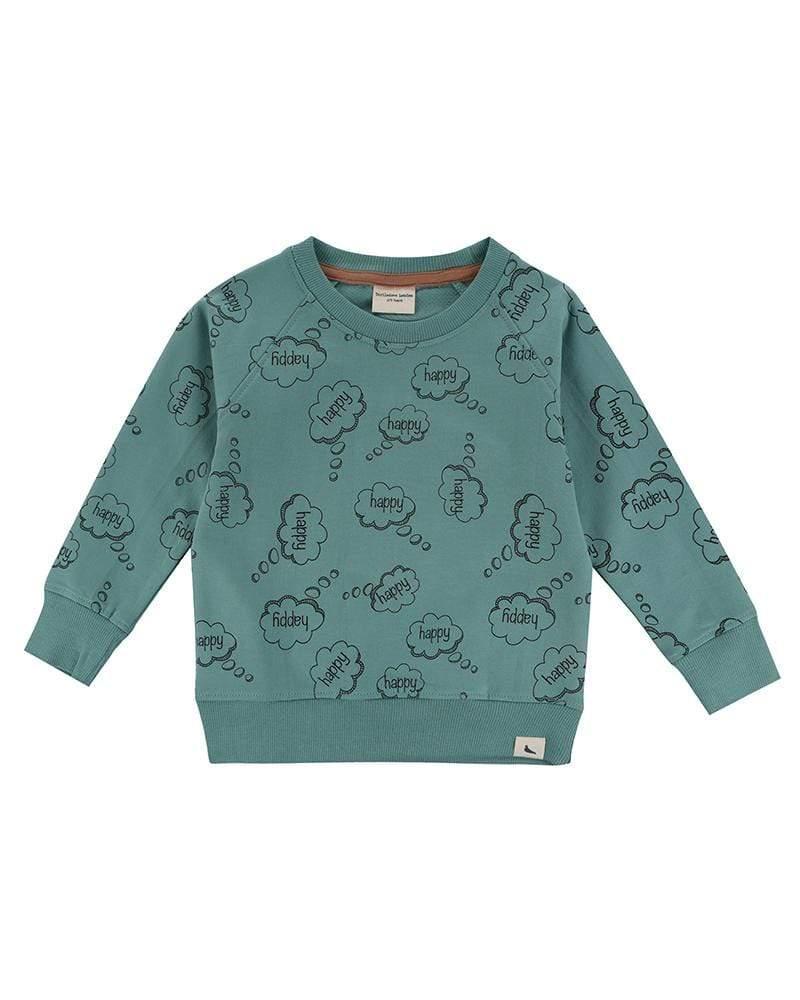 HTD303.sweatshirt glada tankar