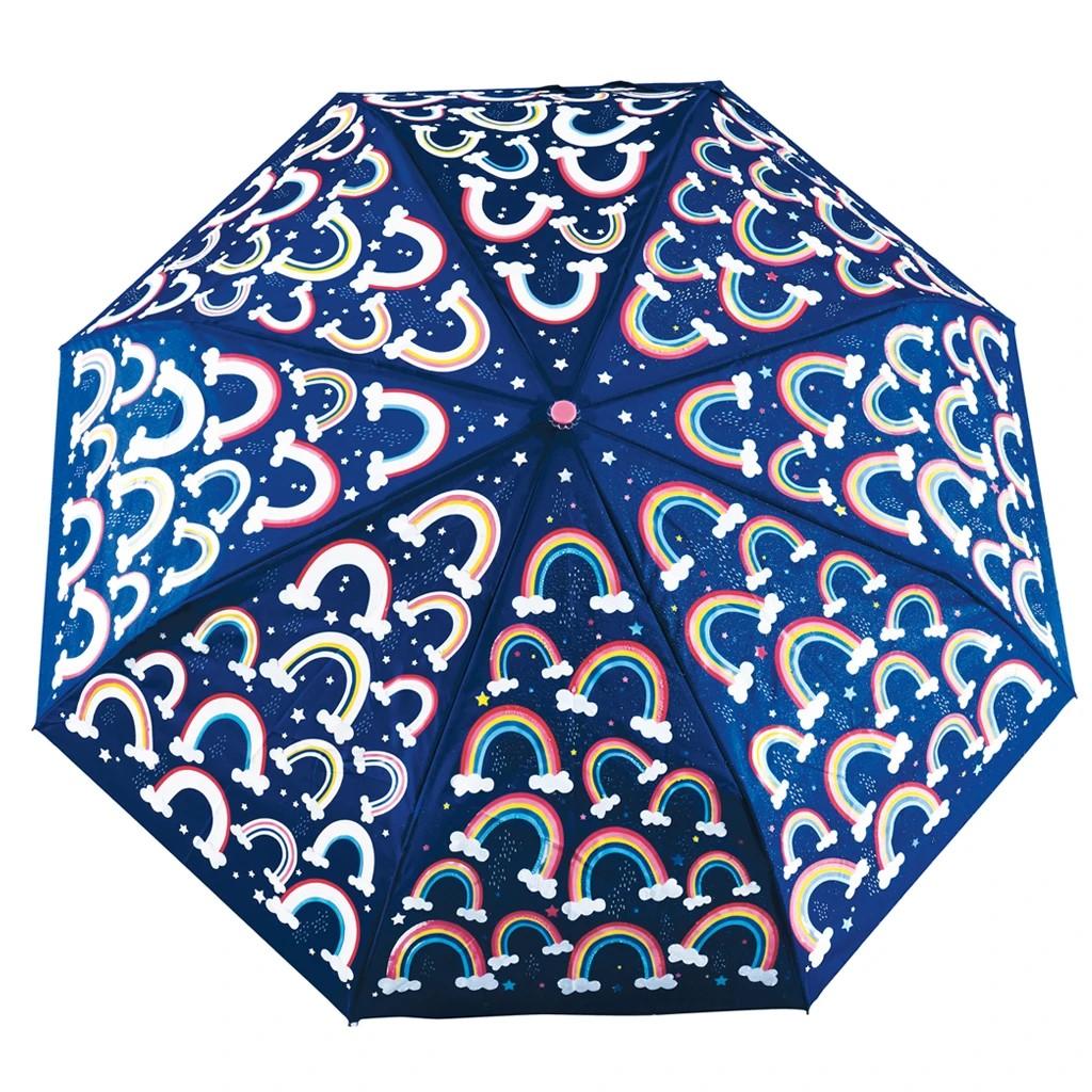 Paraply med regnbågar