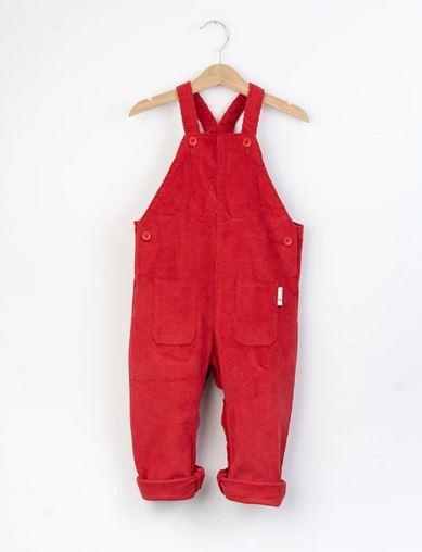 hängselbyxor röda barn