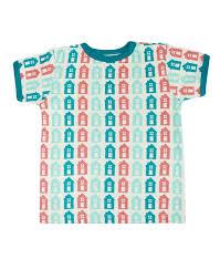 T-shirt kortärmad - Hus - Sture & Lisa 86-98cl - T-shirt hus 86cl