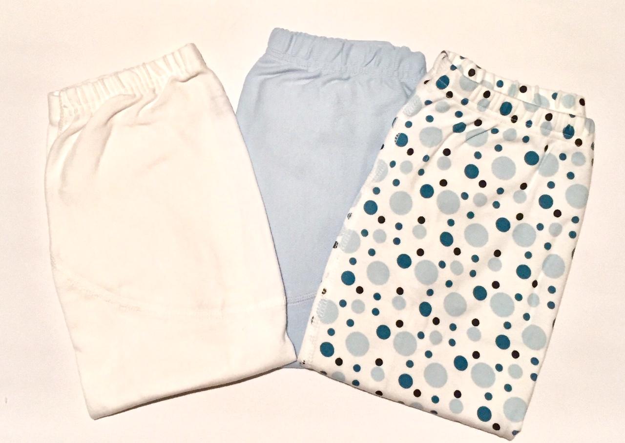 klädpaket blå byxor 3-pack