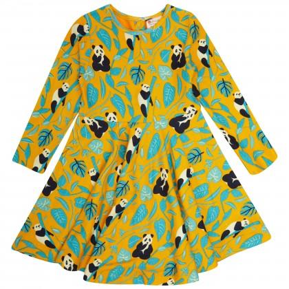 Barnklänning panda