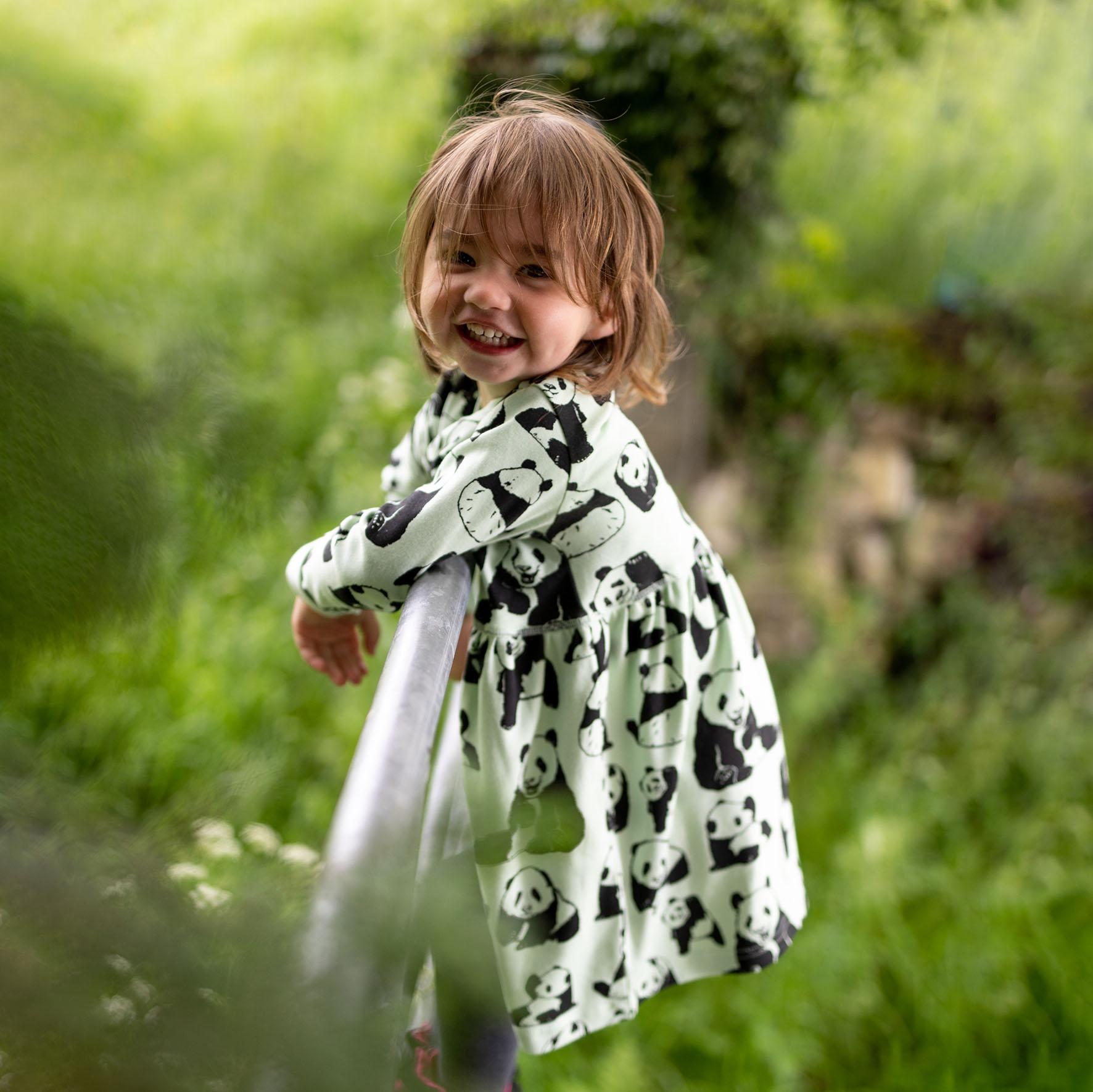 Fauna Kids Panda Dress 1 By Ausra Dooley Photography