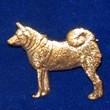 Gråhund Brosch Kenart
