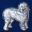 Old English Sheepdog Brosch Kenart