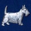 Skotsk Terrier Brosch Kenart