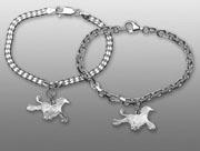 Afghan hängsmycke till armband - Silver