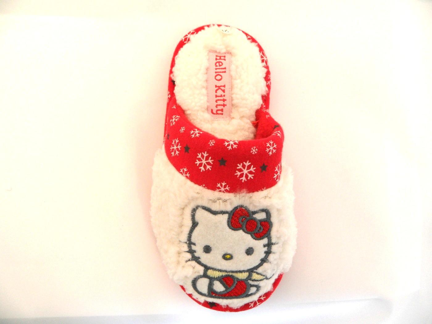 Hello Kitty Vit/Röd